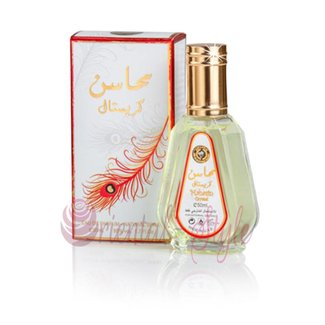 Ard Al Zaafaran Perfumes  Mahasin Crystal Eau de Parfum 50ml Vaporisateur/Spray