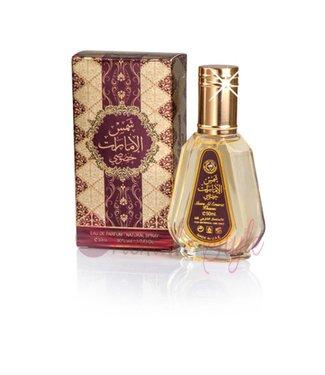 Ard Al Zaafaran Perfumes  Shams Al Emarat Khususi Eau de Parfum 50ml Al Rehab Vaporisateur/Spray