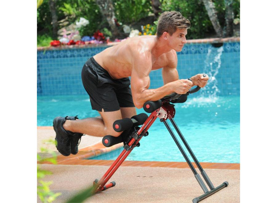 5 Minute Shaper Pro Fitnessapparaat - zwart/rood MIS008
