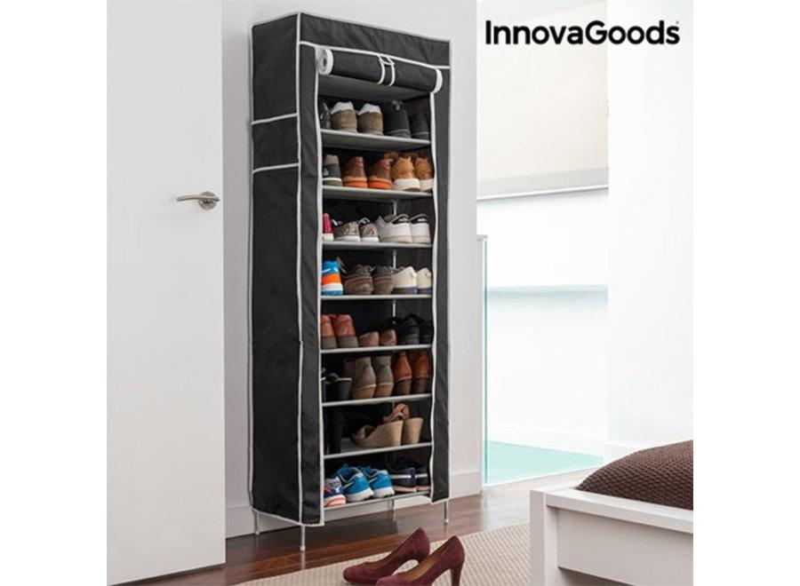 Afsluitbaar Schoenrek - voor 27 paar schoenen - Innovagoods