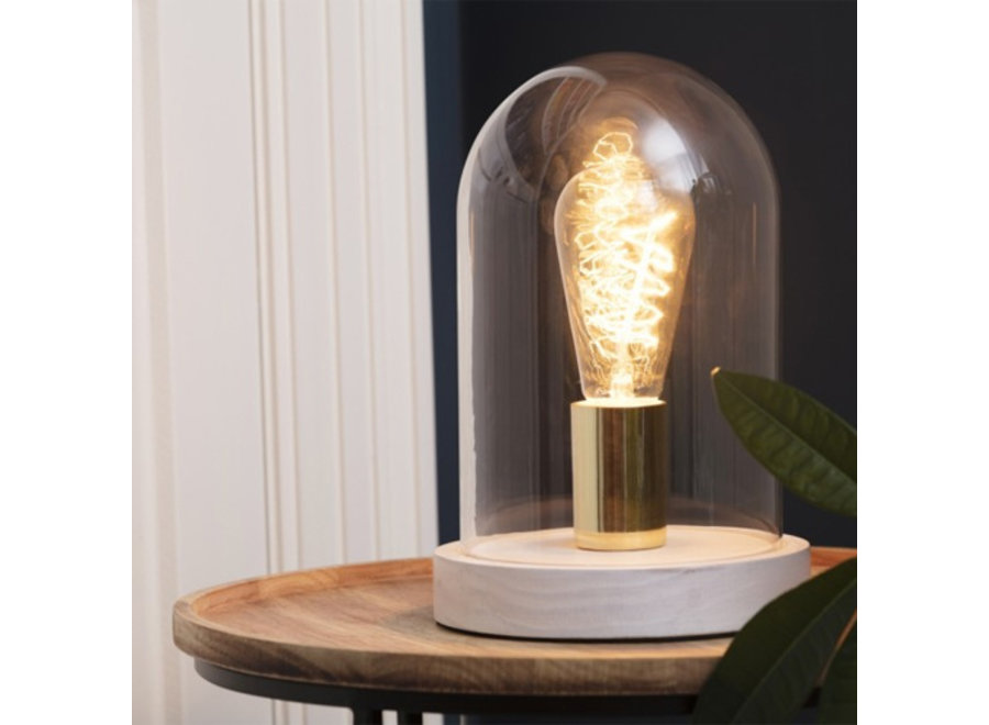 Tafellamp / Stolp Austin - wit Lifa Living
