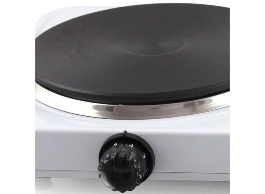 Dubbele Kookplaat - wit HP-109090.4 Emerio