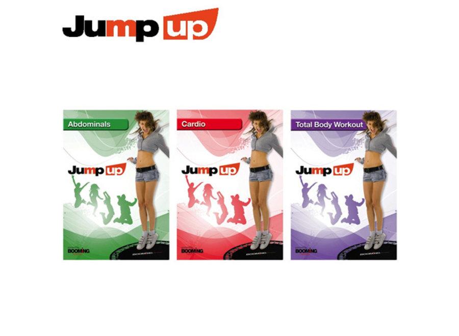 DVD-set 3-delig Fitnesstrampoline BFJ002 Booming