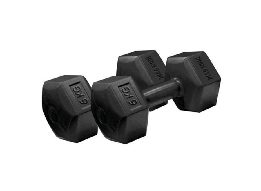 Fixed Hex Dumbell Gewichten (2-pack) Iron Gym