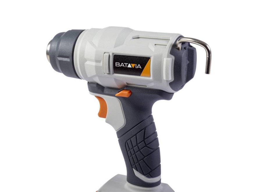 Maxxpack 18V Heteluchtpistool (max 500 graden) 7063519 Batavia