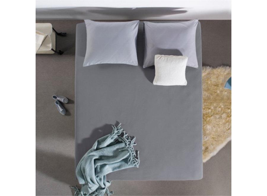Hotel Jersey Hoeslaken - grijs - 4pack Sleep Med
