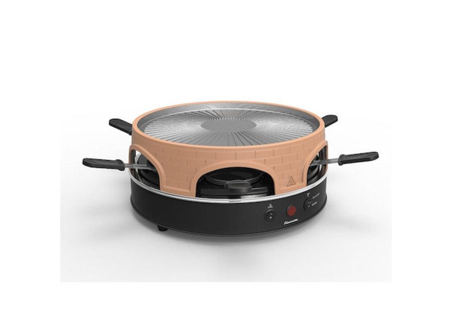 Pizzarette 3 in 1 Oven & Raclette Grill PO-113255
