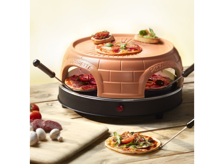 Pizzarette Keep Warm 4-persoons PO-115847 Emerio