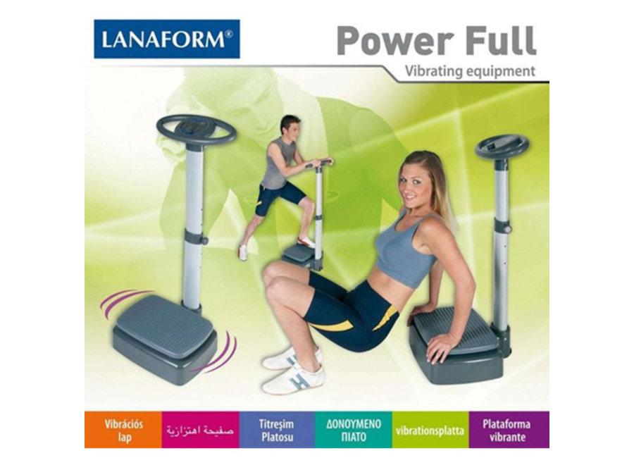 Power Full Trilplaat LA100111 Lanaform