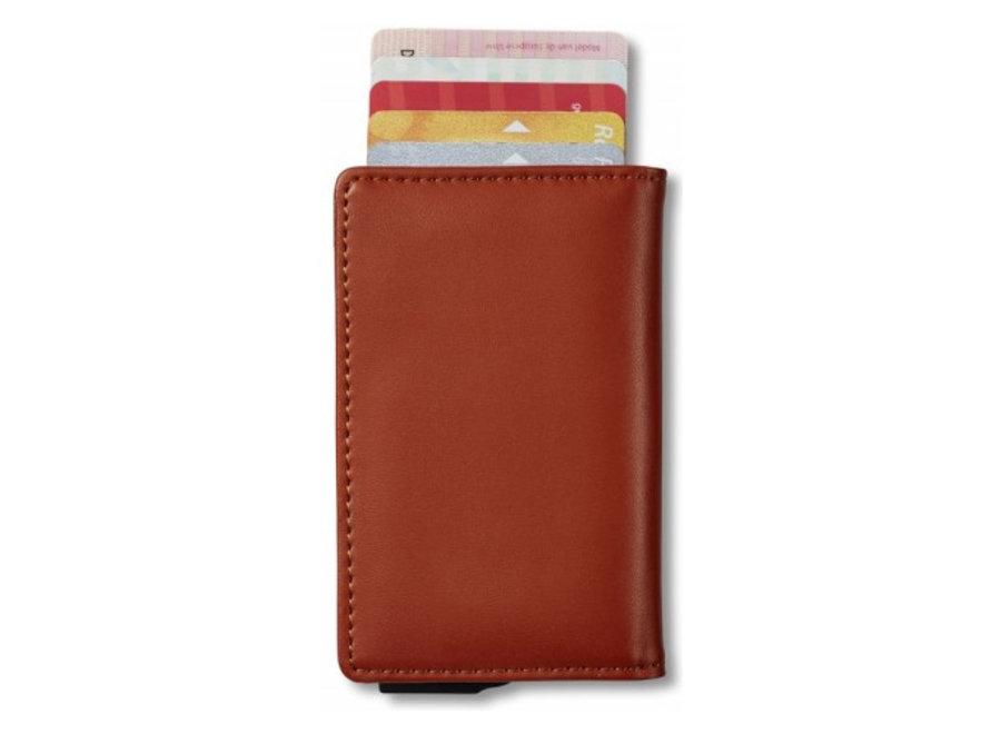 Smart Wallet Creditcardportemonnee - bruin Mascot Online