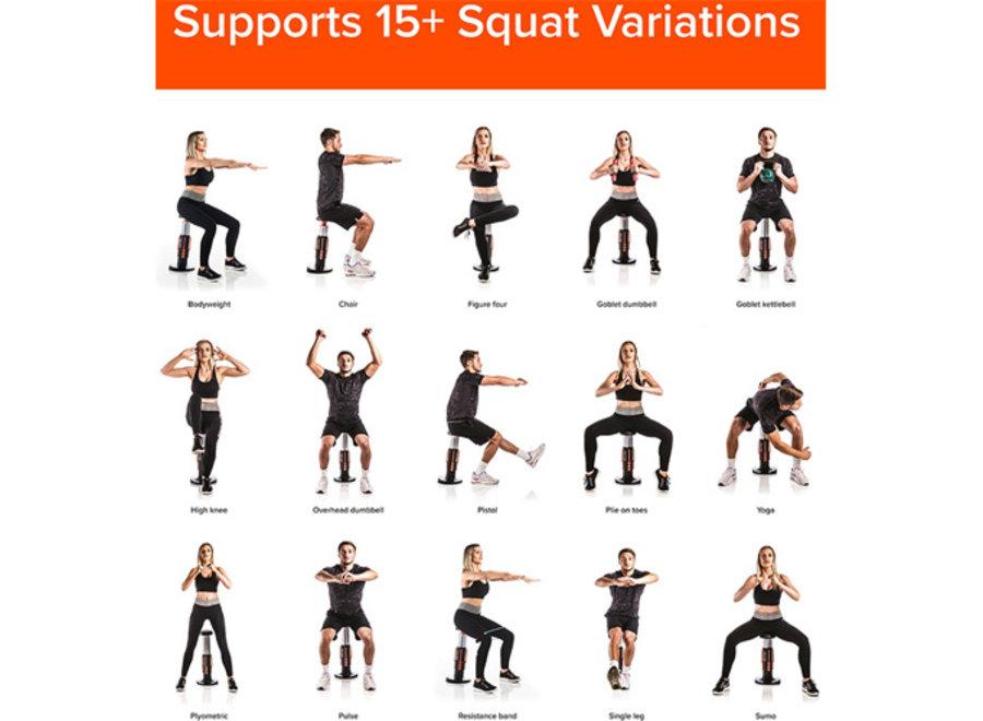 Squat Magic Fitness Device Billentrainer