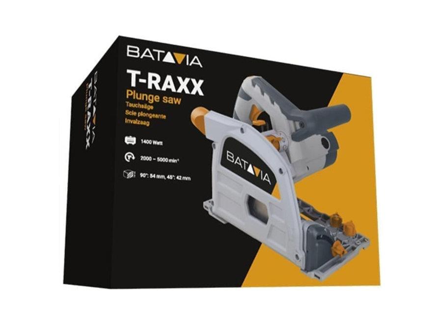 T-Raxx Invalzaag 1400W in aluminium koffer 7062938 Batavia