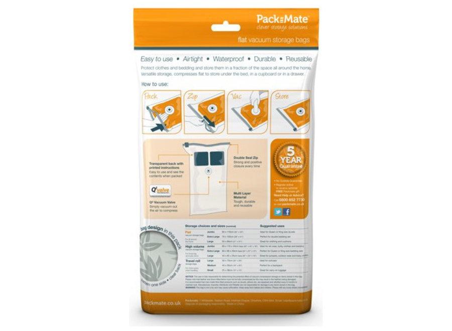 Vacuum Opbergzakken 6-delig Packmate
