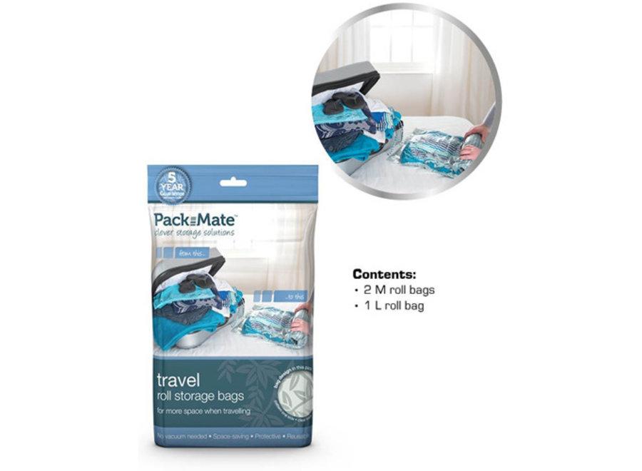 Vacuum Opbergzakken Travel set 3-delig Packmate