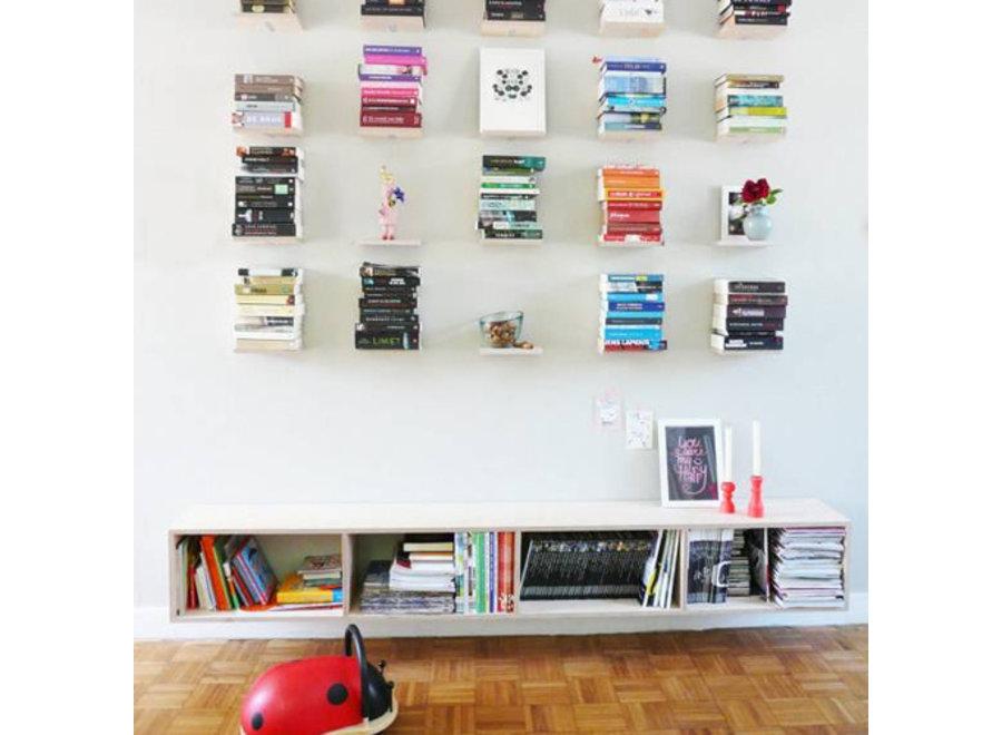 Invisible Zwevende Boekenplanken - 2 stuks Lifa Living
