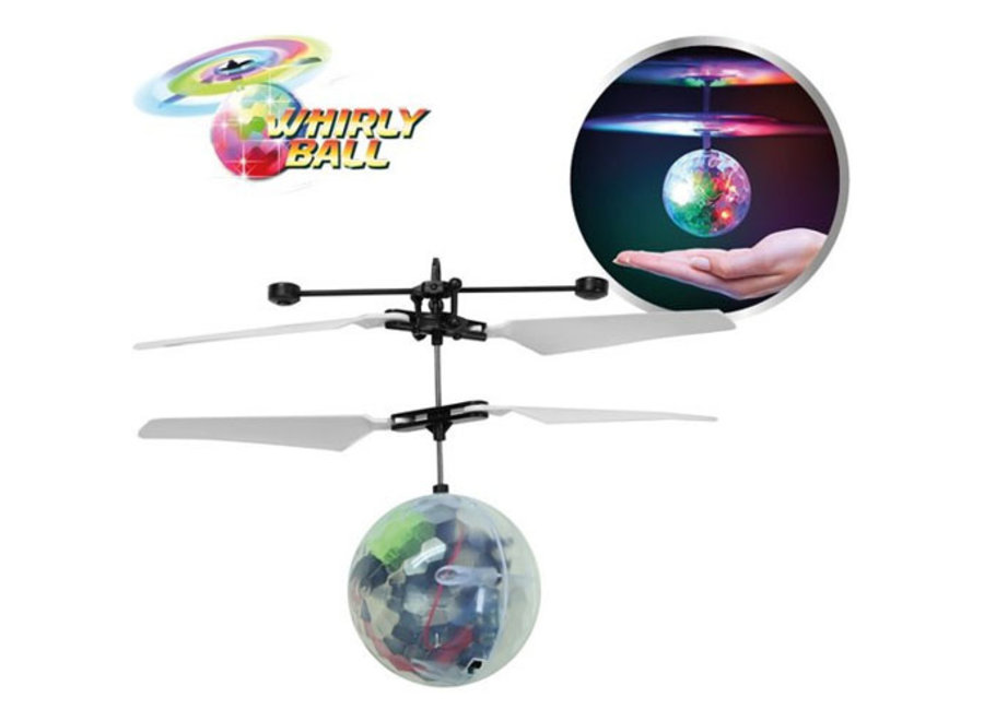 Whirly Ball - zwevende infrarood bal