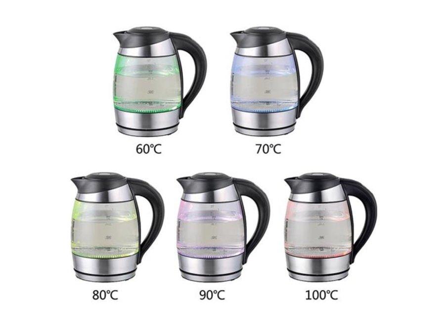 Glazen Waterkoker met instelbare temperatuur WK-109469 Emerio