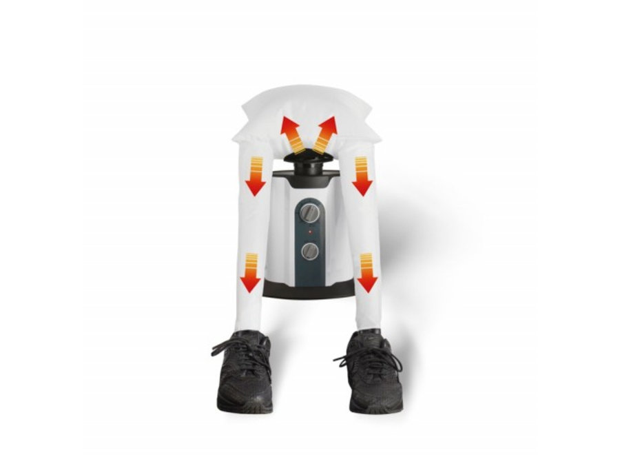 Automatische Schoenendroger Upsell Mascot Online