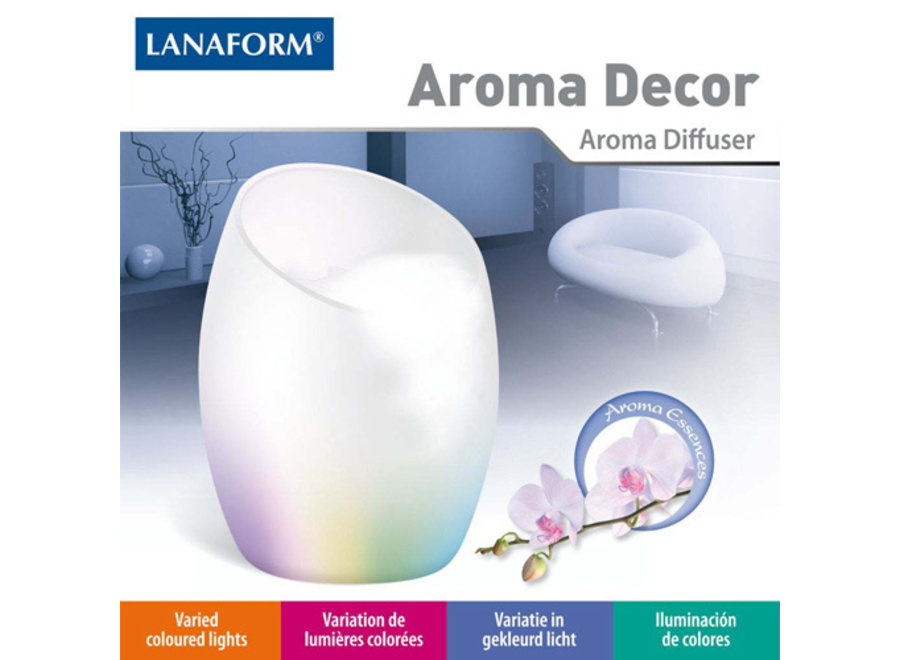 Aroma Decor Diffuser LA120306 Lanaform