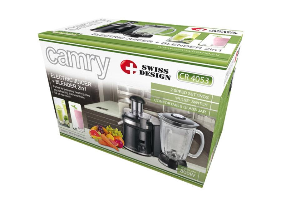 Camry CR 4053 Blender & Juicer 2-in-1