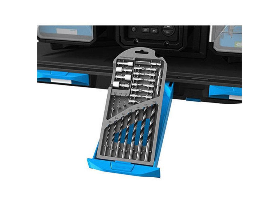 Accessoireset Accuboormachine 7061224 Blucave