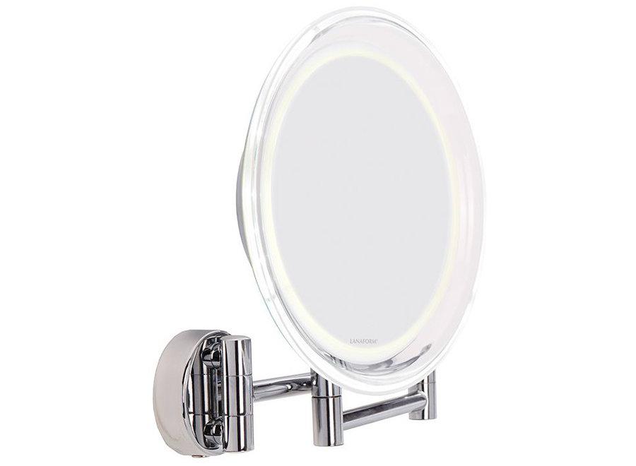 Wandspiegel X10 met ledverlichting LA 131007 Lanaform
