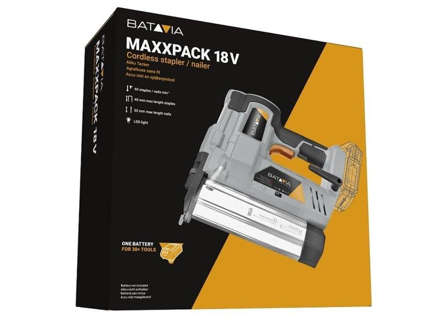 18V Li-Ion Nietmachine/Tacker Maxxpack 7063094 Batavia