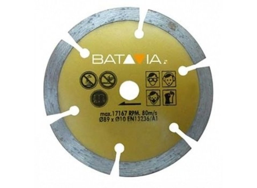 Mad Maxx Diamant zaagblad ?89mm - 1 stuk 7061241 Batavia