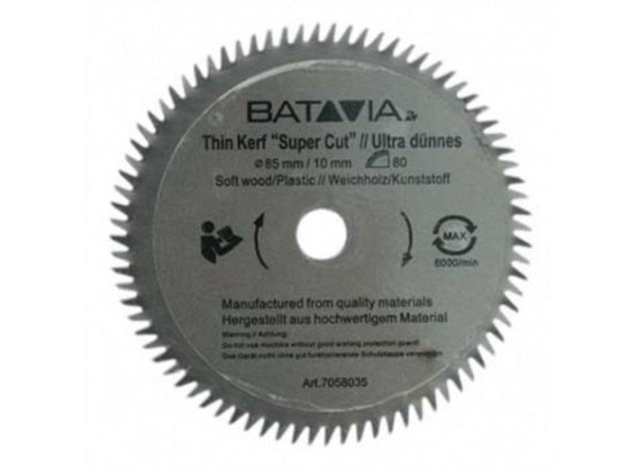 Maxx Saw HSS Zaagblad 80T - 85mm - 2 stuks 7062142 Batavia