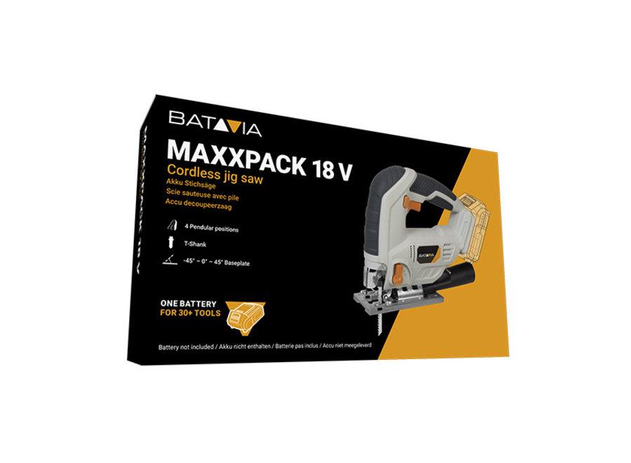 Decoupeerzaag - cordless - 18V Maxxpack 7062513 Batavia