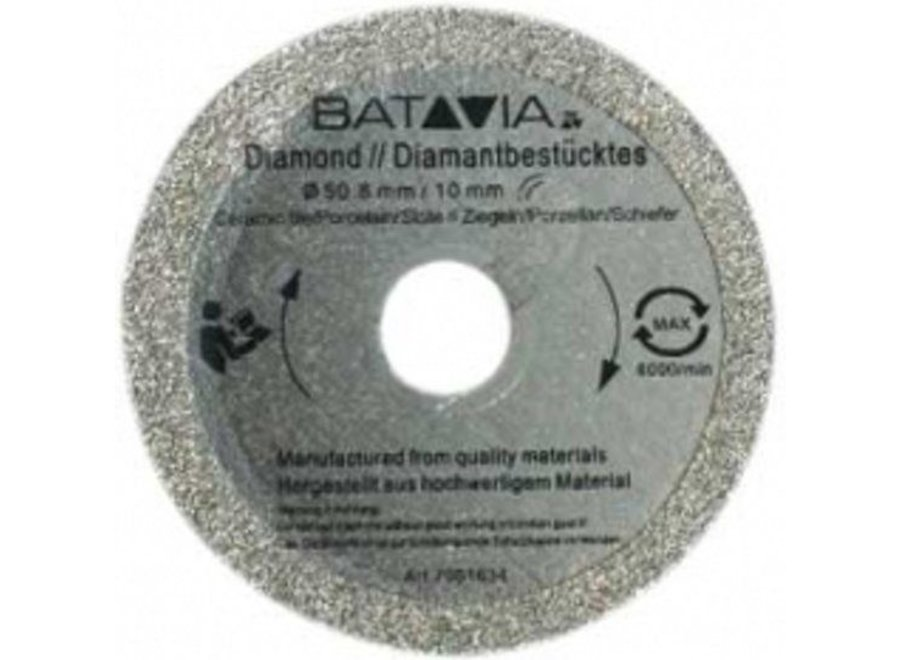 Racer Diamant zaagblad ?50mm - 2 stuks 7061500 Batavia