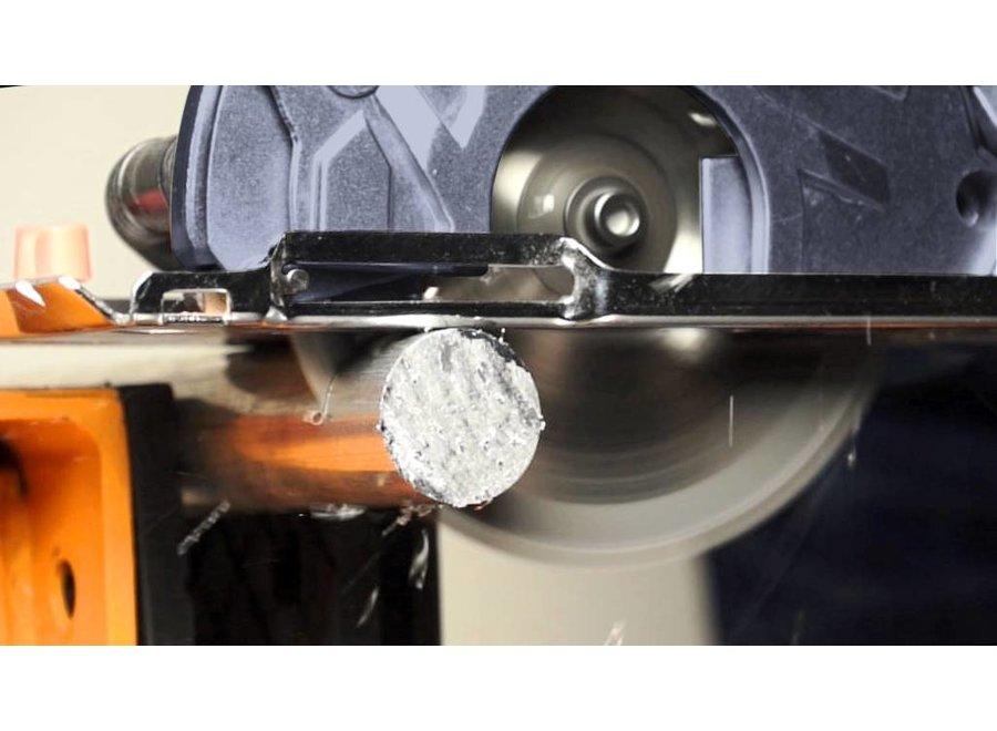 Thor multi-materiaal invalcirkelzaag 800W inclusief 3 x 40 cm track set 7062432 Batavia