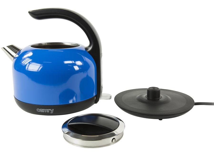 Waterkoker - blauw - 1,7 liter CR 1256B Camry