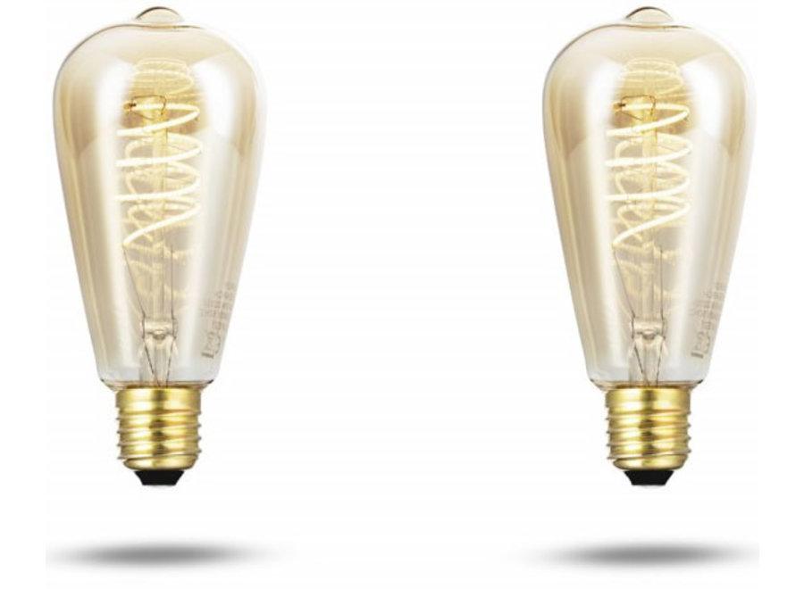 LED Kooldraadlampen 350 lumen - 2 stuks Mascot Online