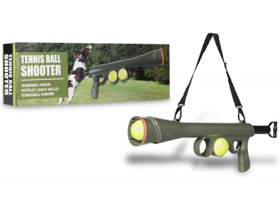 Tennisbal Kanon - schiet 15 meter ver Mascot Online