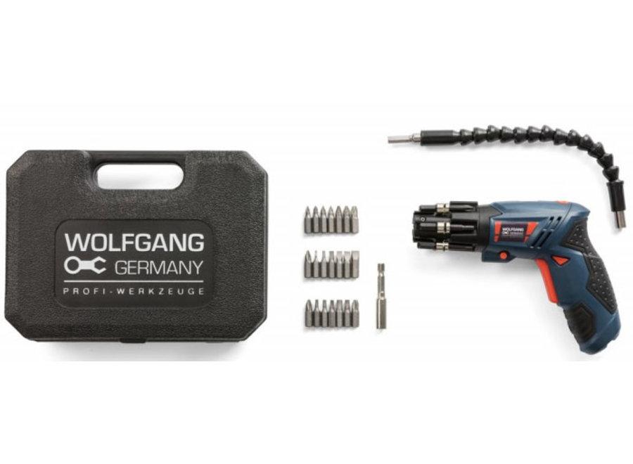 3,6V Li-Ion Elektrische Schroevendraaier - 24-delig Wolfgang Germany