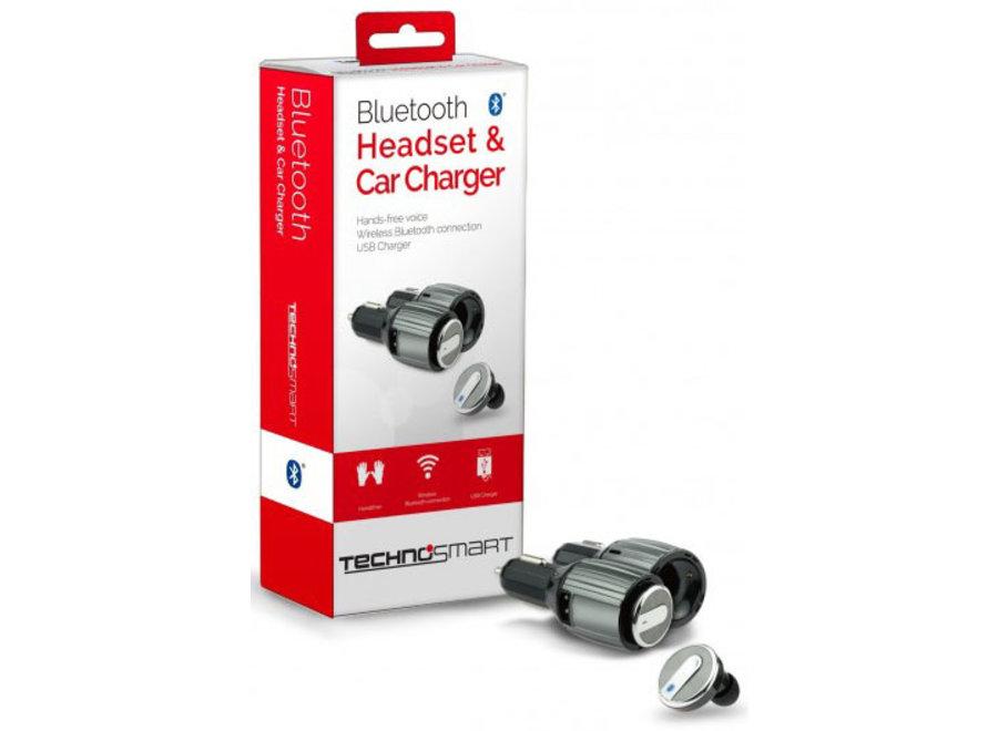 Bluetooth Headset & Car-charger Technosmart