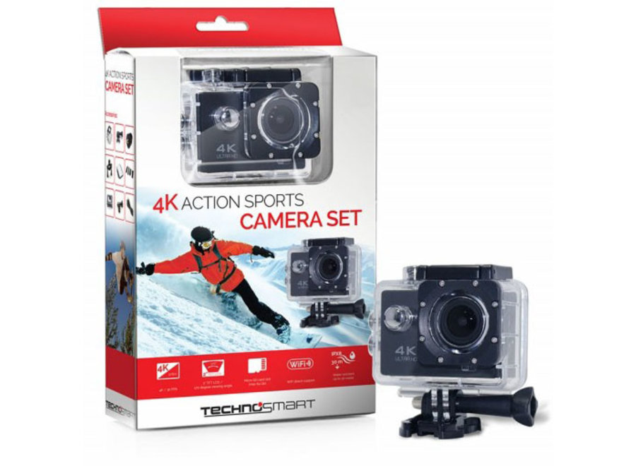 Action Camera 4K Technosmart