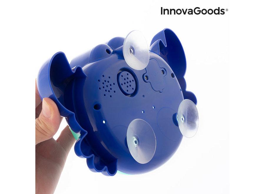 Music Krab met zeepbellen voor in bad V0101212 Innovagoods