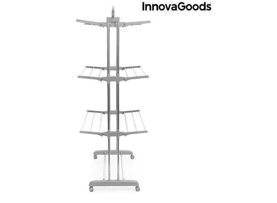 Opvouwbaar Wasrek met wielen V0100795 Innovagoods