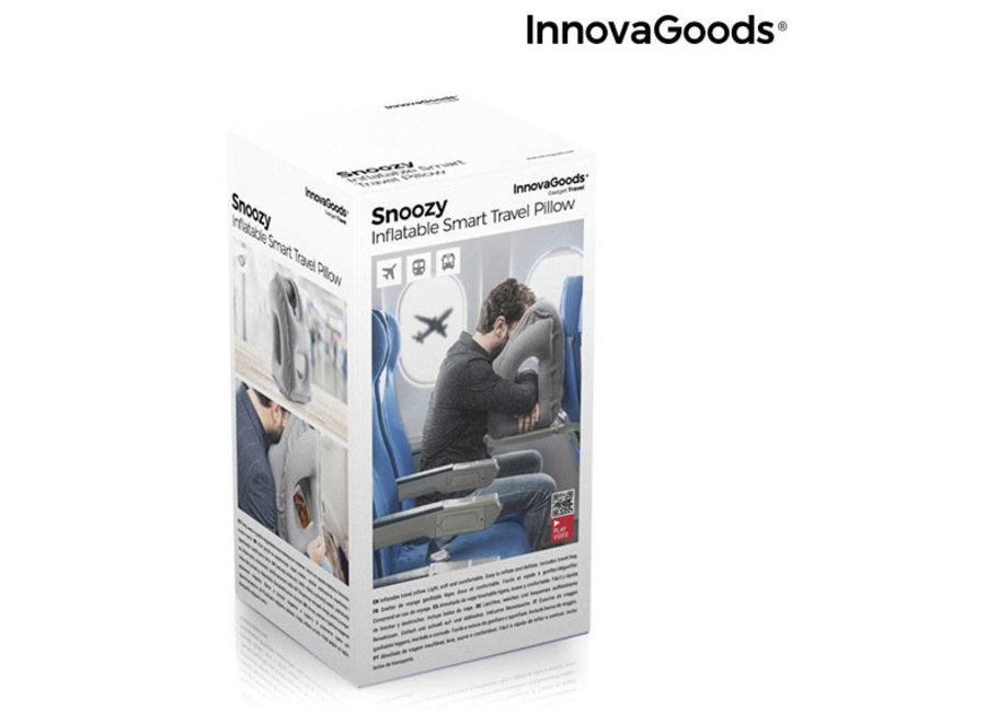 Opblaasbaar Snoozy Reiskussen V0103046 Innovagoods
