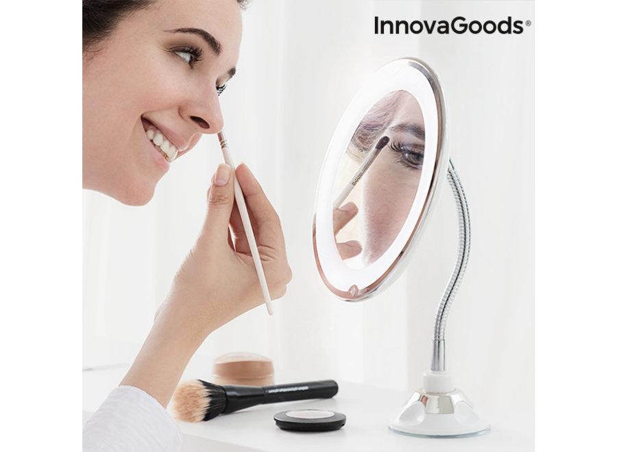 Vergrotende Make-Up Spiegel met LED en flexibele arm V0101221 Innovagoods