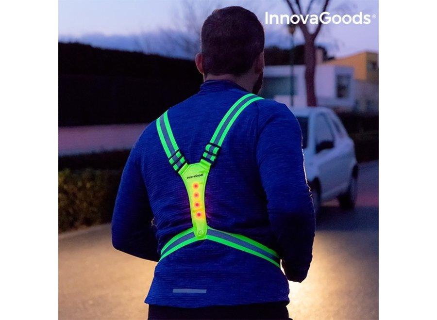 Lichtgevend & Reflecterend Hardloopharnas V0101120 Innovagoods