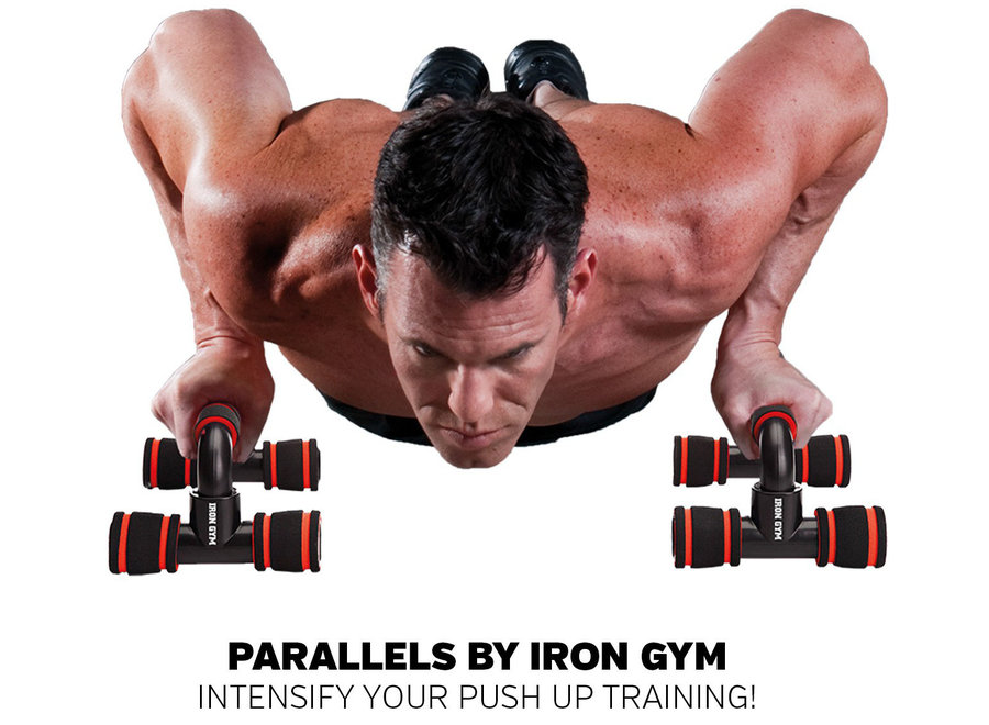 Parallells Opdruksteunen IRG054 Iron Gym