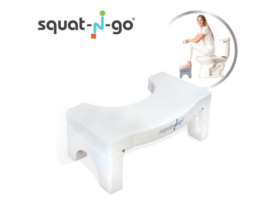 Squat n Go Toiletkrukje - wit SQG002