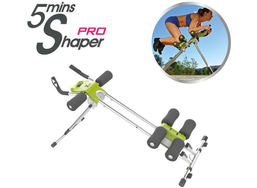 5 Minute Shaper Pro Fitnessapparaat - zilver/groen MIS009