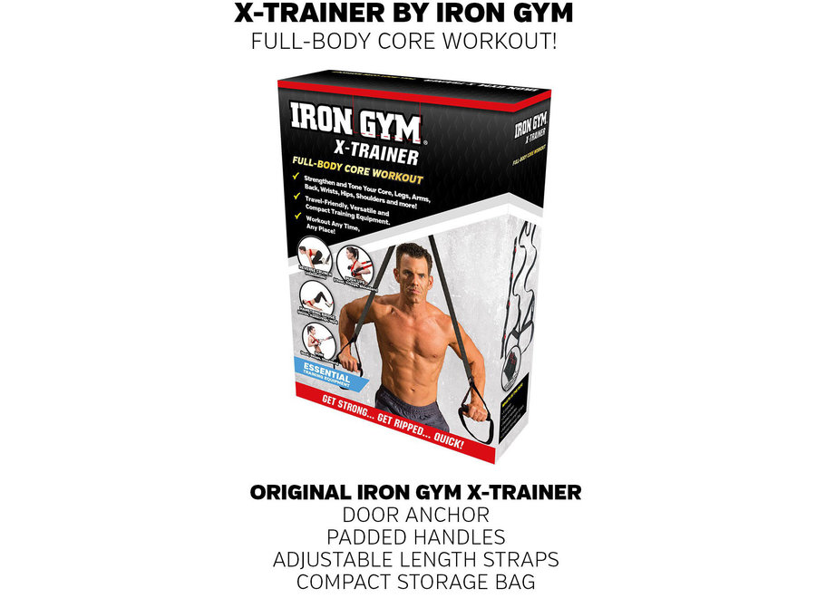 Trainer Pro Full Body Workout IRG040 Iron Gym