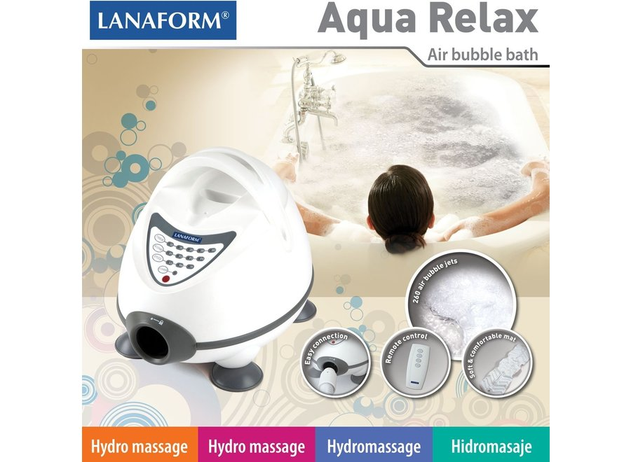 Aqua Relax Bubbelbad mat LA110413 Lanaform