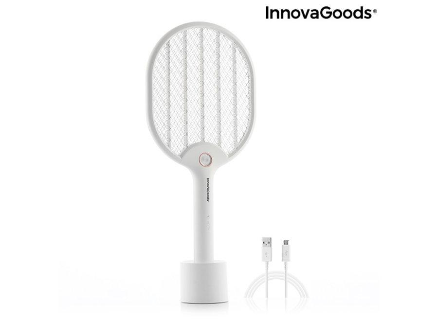 Elektrische Oplaadbare Vliegenmepper V0103082 Innovagoods