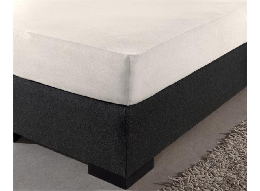 Hotel Jersey Hoeslaken - crème - 4pack Sleep Med